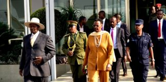President Yoweri Museveni and First Lady fly to China