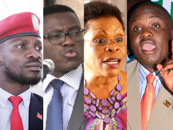 Bobi Wine, Mayiga, Karuhanga on a list of people to be killed