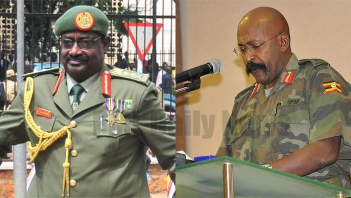 UGANDA: President Museveni retires Sejusa and Koreta from UPDF