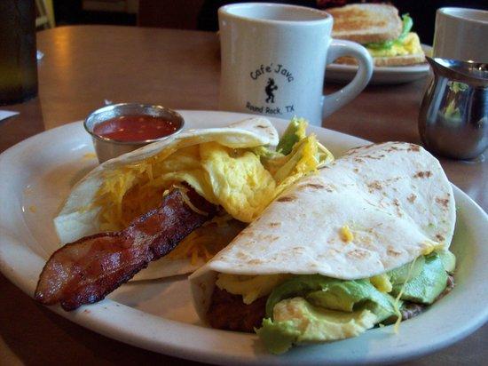 What It Feels Like Having Breakfast At Cafe Javas