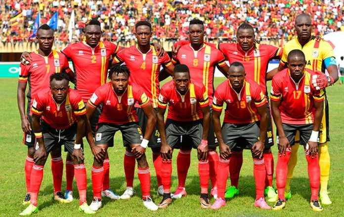 Uganda Cranes Only Need A Point To Qualify For AFCON 2019 In Cameroon