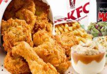Christmas at KFC