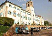 Makerere University Staff Association have laid down tools following suspension of fellow members