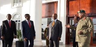 Kabaka, Museveni meet