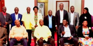 President Museveni sermons NRM ruling party to state house