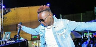 John Blaq Puts up Energetic Performance during Tusker Lite's Nkozi Hill Party