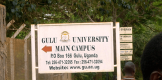 Gulu University (GU) is a university in Uganda.