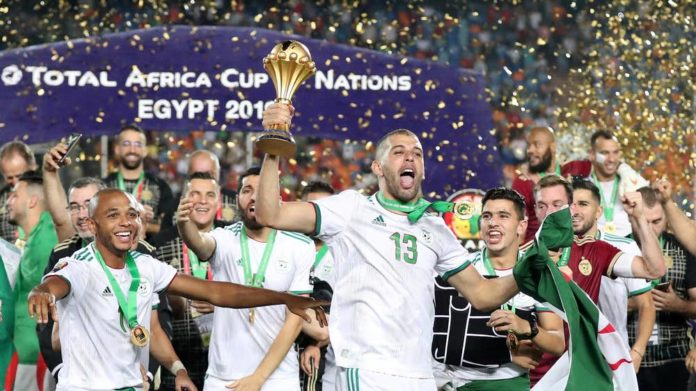 Algeria wins the Africa Cup of Nations