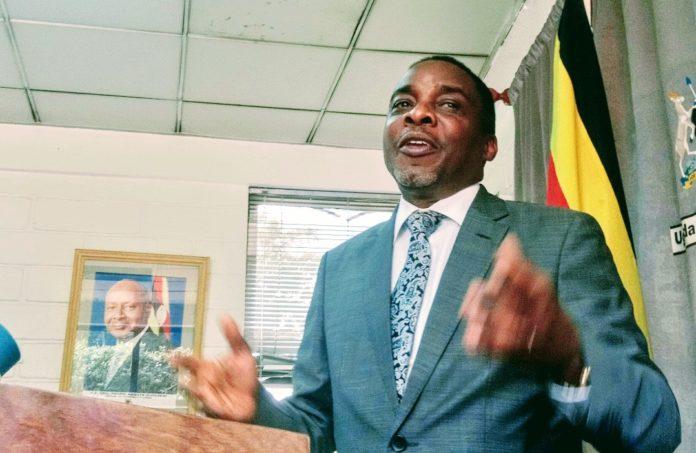 Attorney General William Byaruhanga