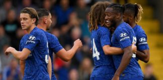 Chelsea head coach Frank Lampard draws