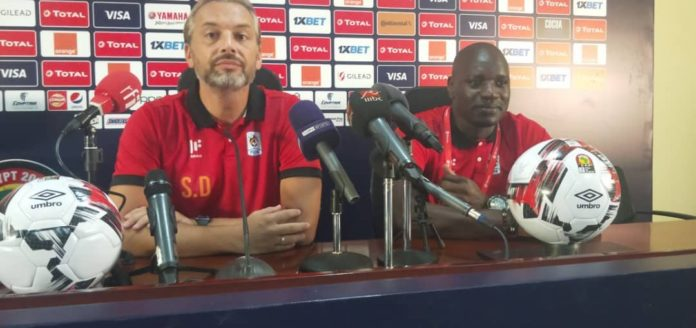 Cranes Coach Desabre assures Ugandans uganda vs senegal