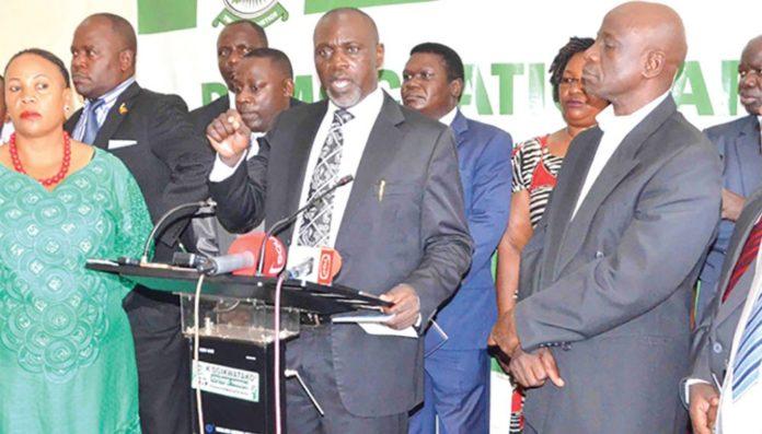 DP Bloc Democratic Party Luweero District