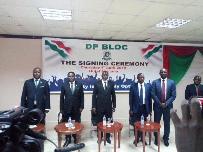 Norbert Mao launches DP bloc
