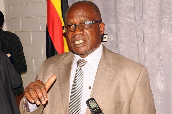 Minister for Public Service Wilson Muruli Mukasa