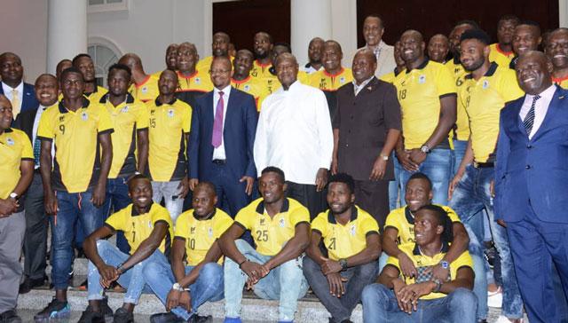 President Museveni rewards Uganda Cranes Sh3.7 billion