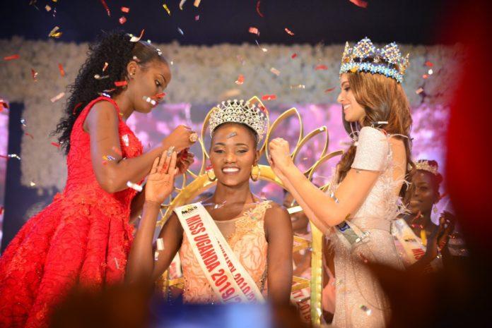 Oliver Nakakande is the new Miss Uganda 2019/2020