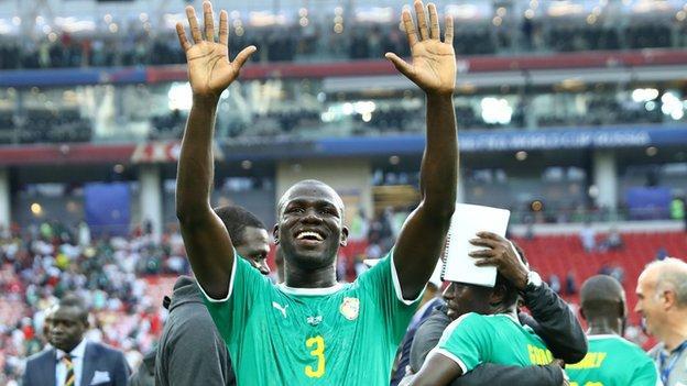 Senegal as defender Kalidou Koulibaly