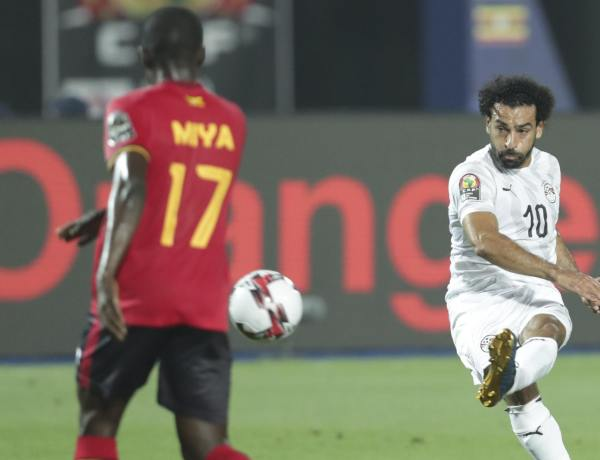 AFCON Group A: Egypt beat Uganda 2-0