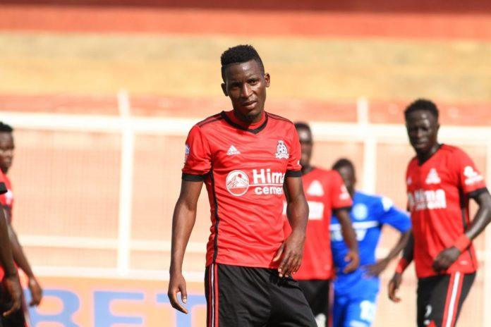 Uganda Cranes midfielder Moses Waiswa