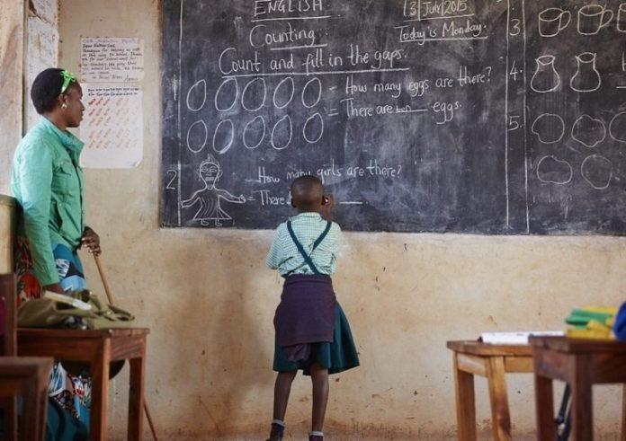 Ugandan teachers cannot write