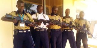40 private security firms