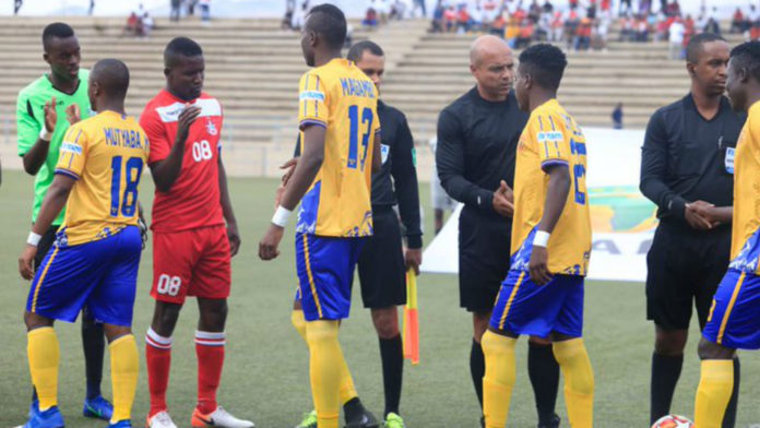 African Stars in CAF Champions League KCCA FC