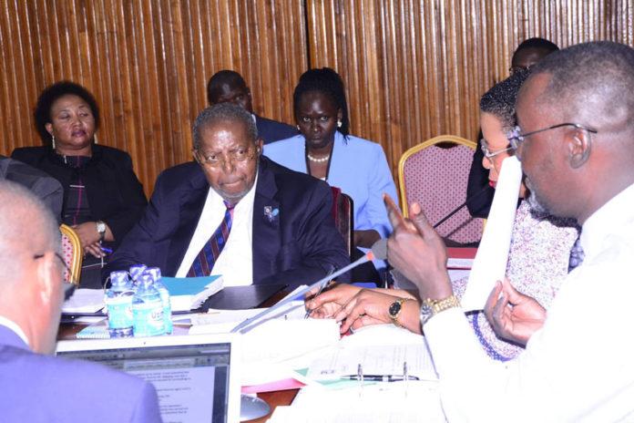 Bank of Uganda governor Emmanuel Tumusiime Mutebile