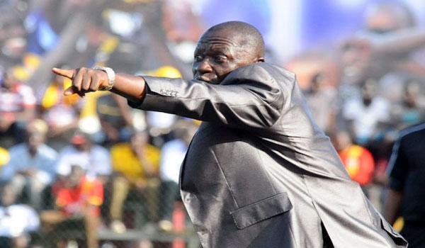 Coach Mike Mutebi