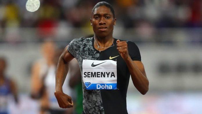 Double Olympic champion Caster Semenya