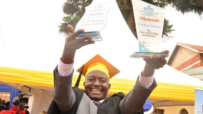 Pastor Aloysius Buggingo finally graduates. File photo