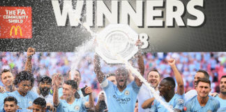 Manchester City wins 2019 FA Community Shield