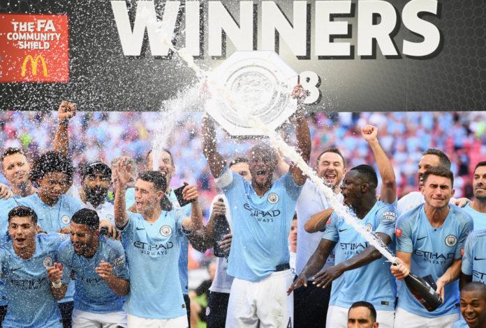 Manchester City wins 2019 FA Community Shield