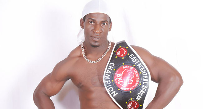 Golola Moses is a Ugandan entertainer, world champion kickboxer, boxer, actor