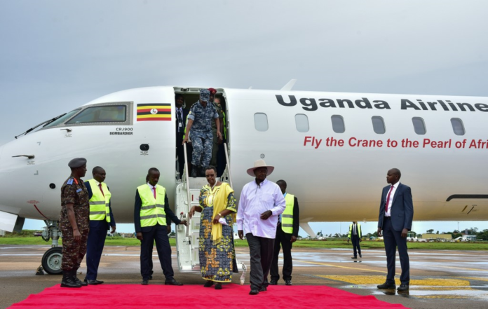 Museveni takes Uganda Airlines to the skies