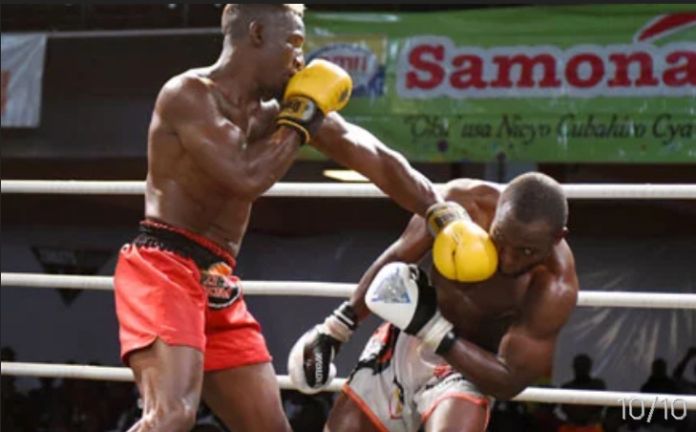Moses Golola beats Umar Semata in the kickboxing re-match