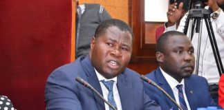Parliamentary Affairs Committee Jacob Oboth Oboth