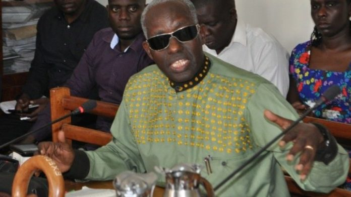Security Minister Gen Elly Tumwine on safe houses