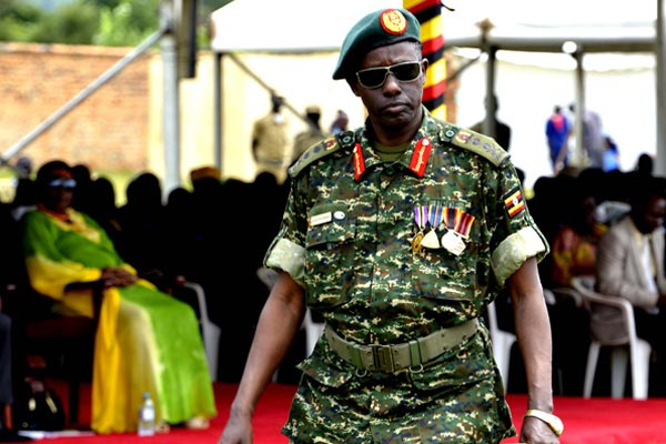 Security minister Gen Elly Tumwine