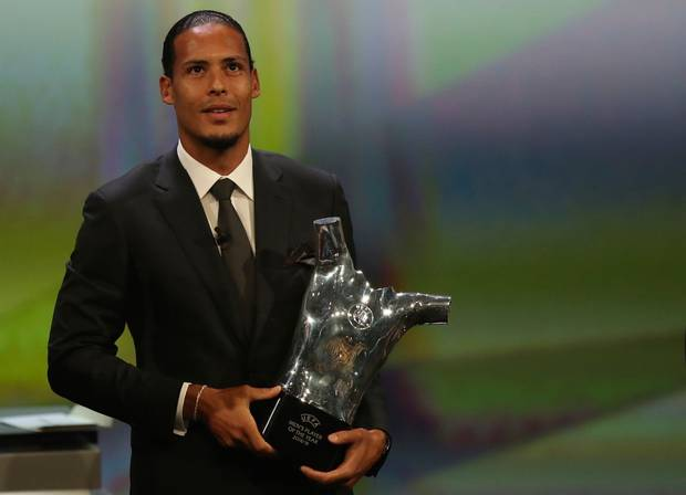 Liverpool UEFA Player of the Year award