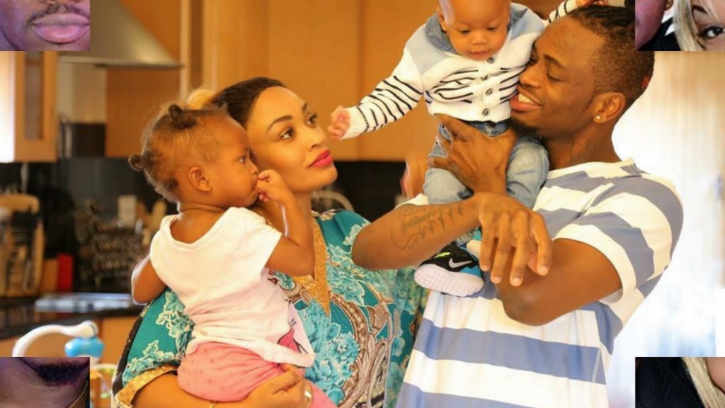 Who is Zarinah Hassan with Diamond Platnumz and their children