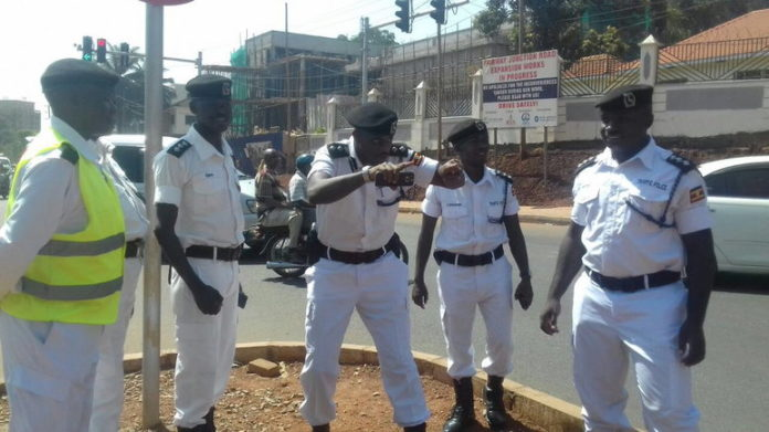 Traffic police Operation Fika Salaam
