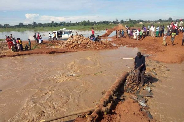 Butaleja floods victims