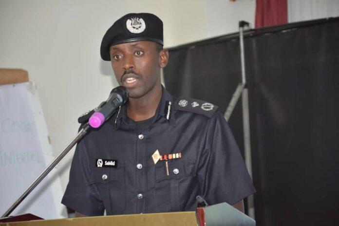 Deputy IGP Gen Sabiiti Muzeeyi