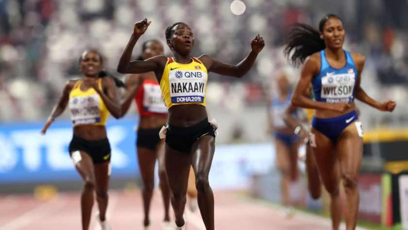 Halimah Nakaayi wins Uganda's first gold in Doha3