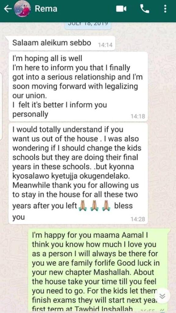 Kenzo loves Rema whatsapp