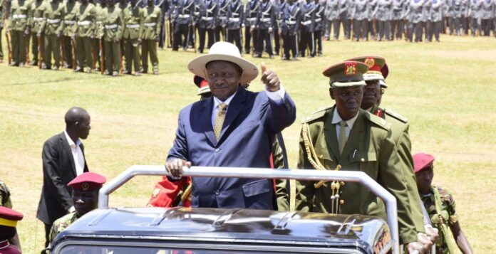 Museveni calls for african unity as uganda marks 57