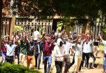 Police Makerere University protests