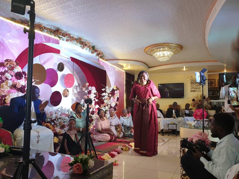 Rema Sebunya kukyala ceremony