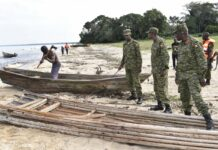 UPDF army torturing fishermen