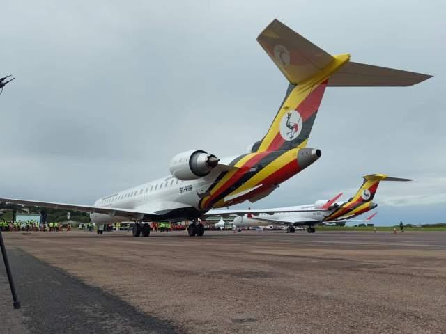 Uganda Airlines CRJ900 series